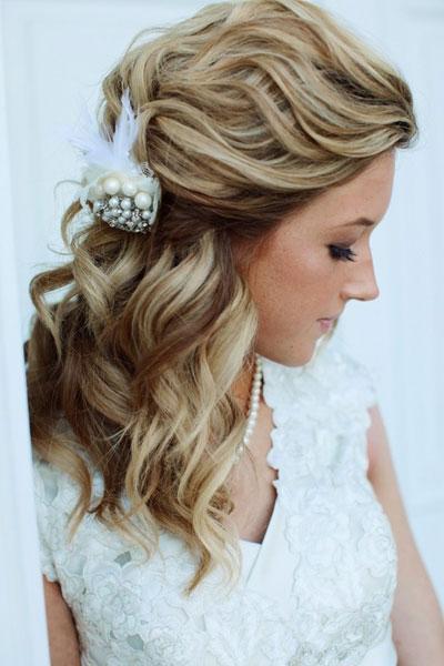 cabelo- penteado noiva solto