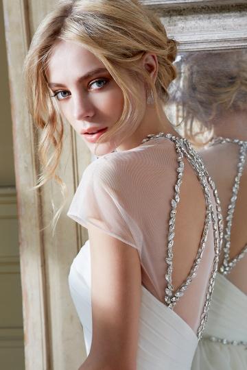 detalhes vestido de noiva detalhe costas
