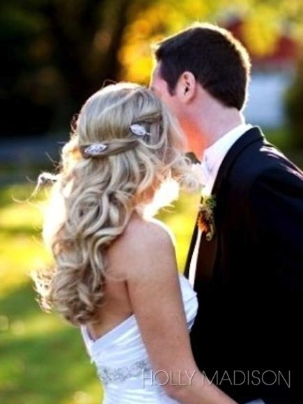 penteado solto noivas