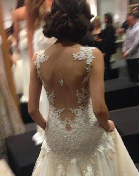 vestido de noiva detalhe costas