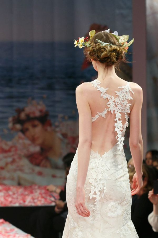 vestido de noiva detalhe nas costas- Claire Pettibone