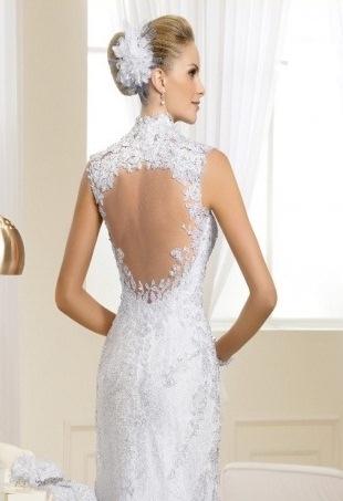 vestido de noiva detalhe nas costas nova noiva