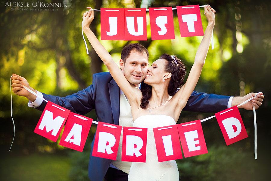 ideias para casamento Placa recem casados
