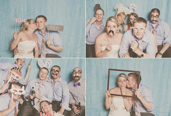 Ideias para o casamento cabine de fotos