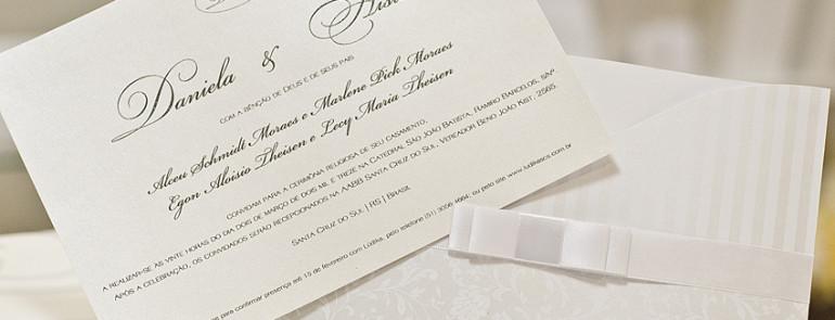 convite- casamento clássico