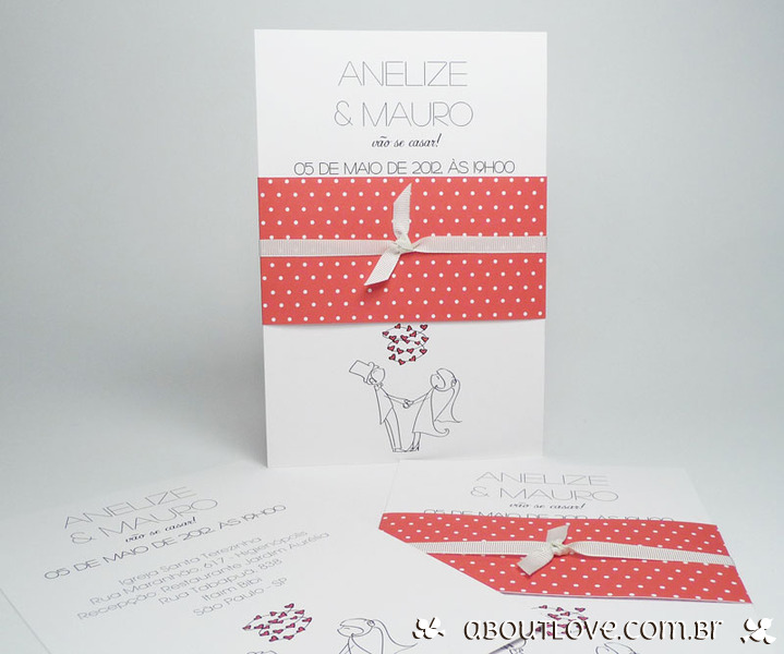 convite de casamento informal -decorado-em-cinta-vermelho-e-branco-5