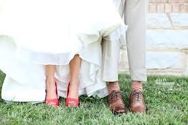 ideias para casamento sapato vermelho 2