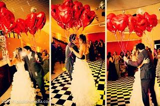 ideias para casamento com balão