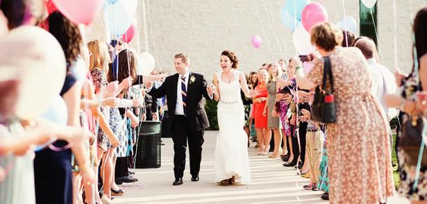 ideias para casamento com balões