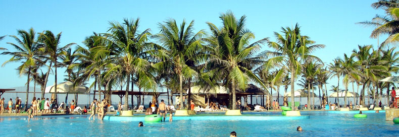 opção para lua de mel  beach park