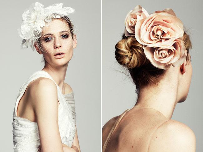 penteado de noiva flor flowers