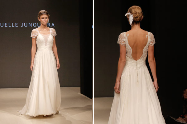 vestido de noiva off white Desfile Emannuelle Junqueira 001