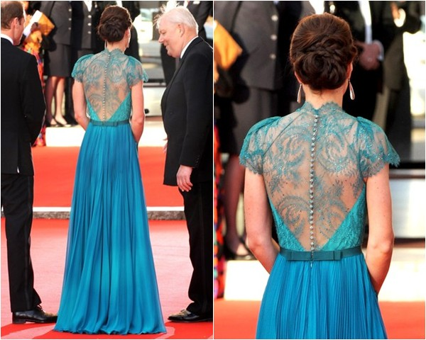 vestido madrinha de casamento renda kate-middleton-