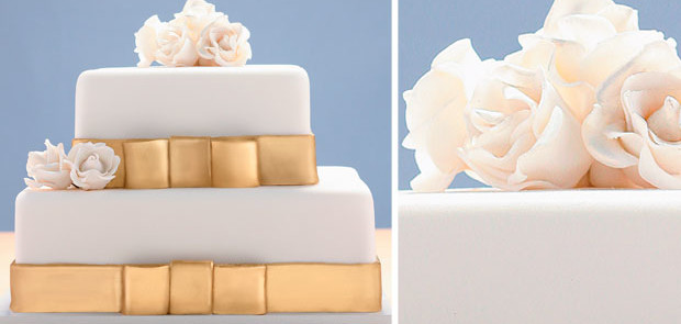 bolo de casamento Peppermint Place