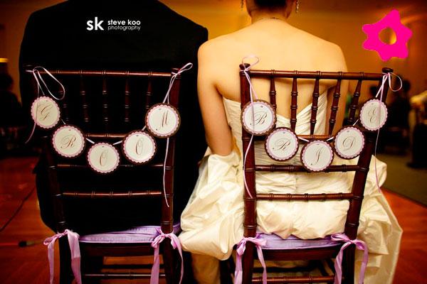 Ideias para o casamento cadeira-noivos-
