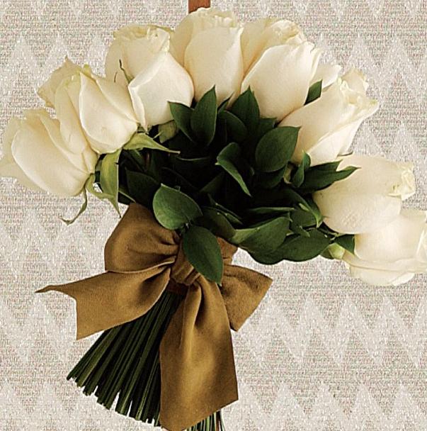 Bouquet-de-Flores-Brancas | Noivinhaemfolha