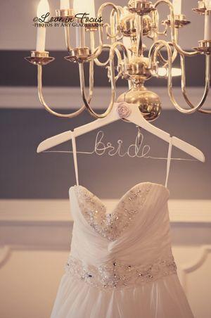 ideias para casamento cabide