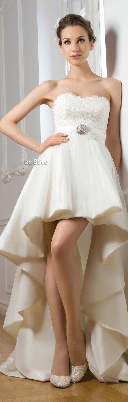 vestido de noiva curto 433