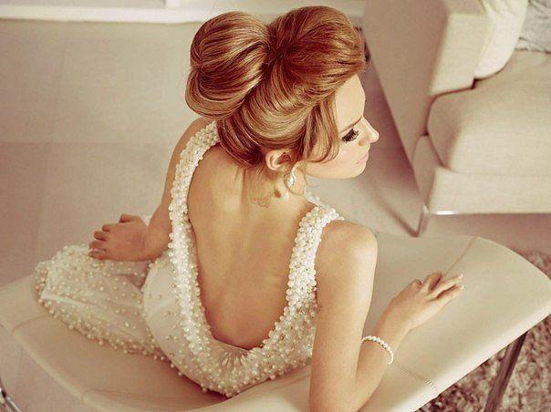 Penteado de noiva coque 10