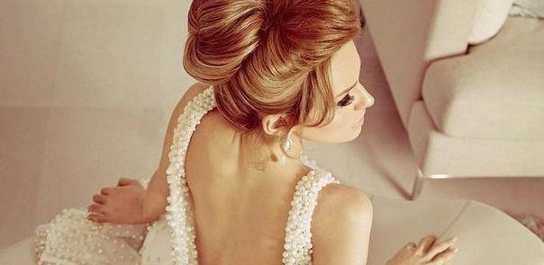Penteado de noiva coque 10s