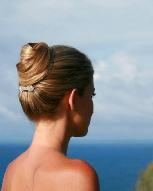 Penteado de noiva coque 7
