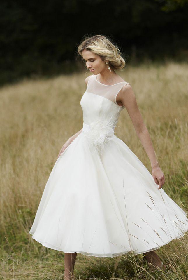 vestido de noiva curto 43