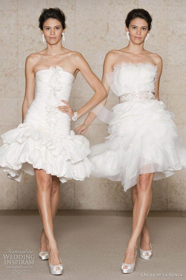 vestido de noiva curto 47