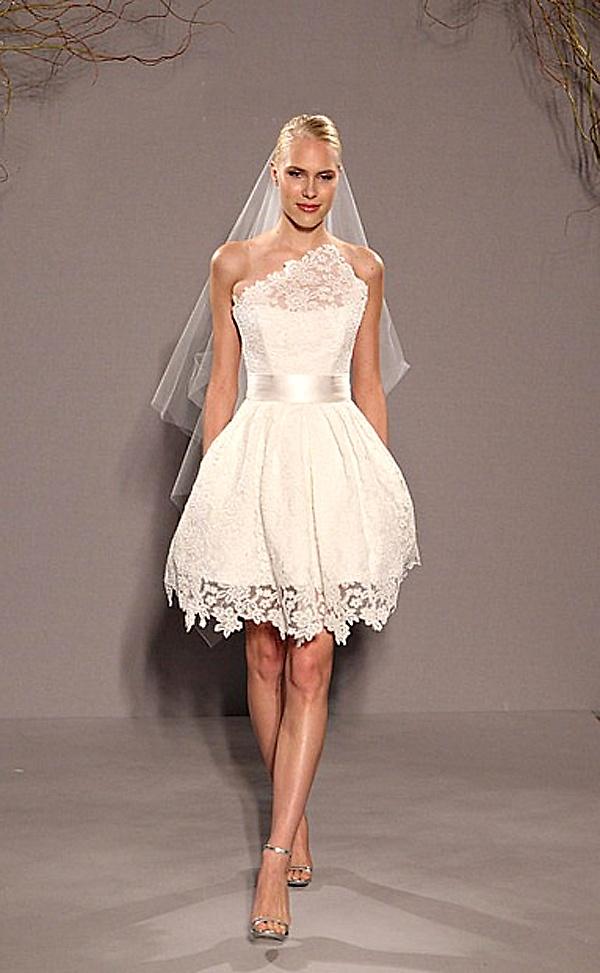 vestido de noiva curto 3