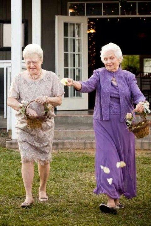 daminha de casamento avós