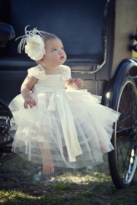daminha de casamento baby