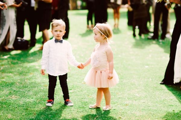daminha e pajen de casamento