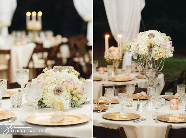 mesas dos convidados o uso de candelabros com velas vasos de vidro